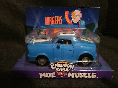 Chevron Toy Cars Moe Muscle Car Burgers brand new *mint* FREE SHIPPING