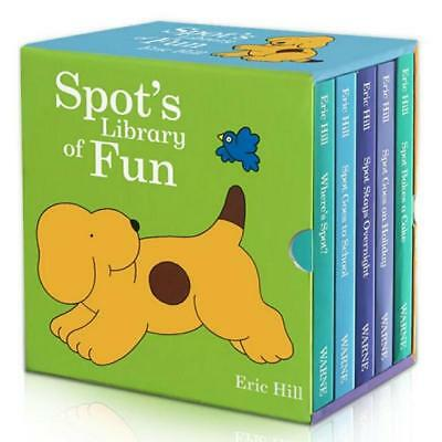 NEW Spot's Library of Fun 5 Books Boxed Set Collection Lift the Flap Eric Hill