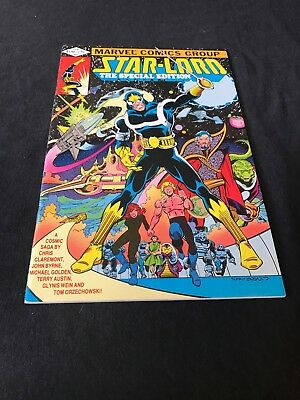 Star-lord, The Special Edition #1 (Feb 1982, Marvel) VF+