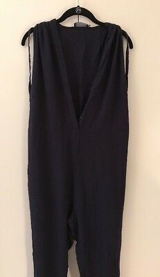 hatch maternity jumper romper jumpsuit blue twilight 1 dark navy