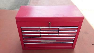 Tool Box-12 Draw.shed,spanners,engine,garage,mill,workshop,tools,motor,old,lathe