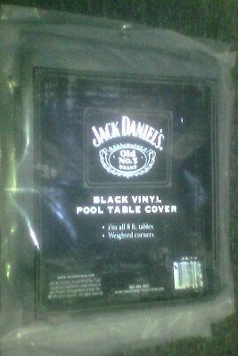jack daniels vinyl pool table cover fits 8ft table (embossed with logo)