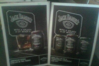 jack daniels corflute boards for american premix cans double sided