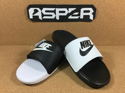 b2a88980fdbd Nike Benassi JDI Mismatch Black White Ying Yang Men Women Sandal 818736-011  DS