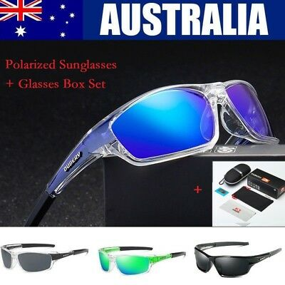 DUBERY Sunglasses Polarized Glasses Driving Outdoor Sport Fishing Eyewear AU