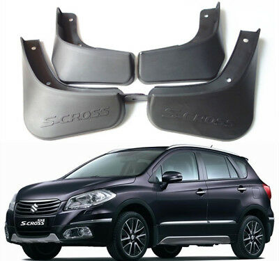 New Set OEM Splash Guards Mud Guards Mud Flaps FOR 2014-2018 Suzuki SX4 S-CROSS