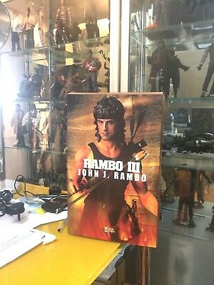 Hot Toys 12 inches Rambo 3 Mint in Box