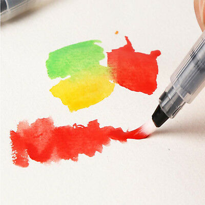 Practical Artist Ink Pen Water Brush Pen For Watercolor Calligraphy Painting KU