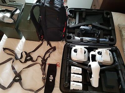 Dji inspire 1 V2.0 drone and accessories