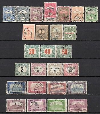 Hungary very nice mixed collection,stamps as per scan(4433)