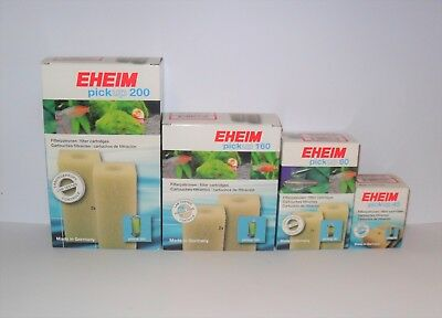 EHEIM PICKUP 45 60 160 200 FILTER CARTRIDGE/ FOAMS. Aquarium Fish
