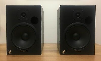 """Event Tr8 Tuned Reference Active 8"""" Inch Studio Monitors Speakers Pair 20/20Bas"""
