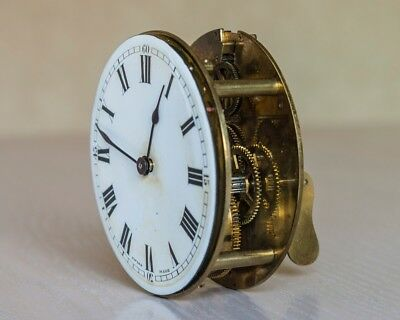 Antique Buren clock movement, spares or repair