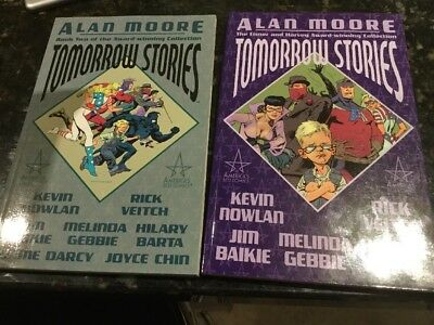 Alan Moore's Tomorrow Stories: Bk. 1 And 2 By Nowlan, Veitch, Bailie, Gebbie