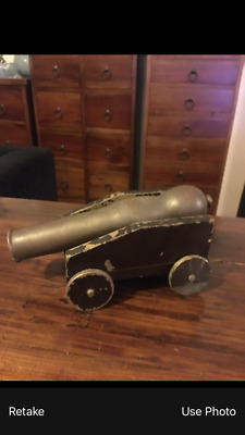 authentic WW1 trench art cannon