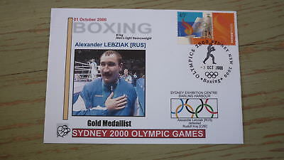 2000 Olympic Games Gold Medal Win Cover, Russia Boxing Event Gold, L Heavyweight