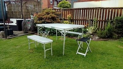 hi gear elite picnic table 2 benches and 2 stools & HI GEAR ELITE picnic table 2 benches and 2 stools - £25.00 ...