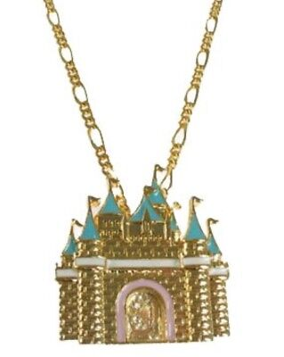 Disney Couture Castle Necklace
