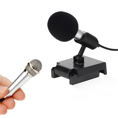 Microphone Mini mic for karaoke portable 3.5mm Jack Mic For Speaking music sound