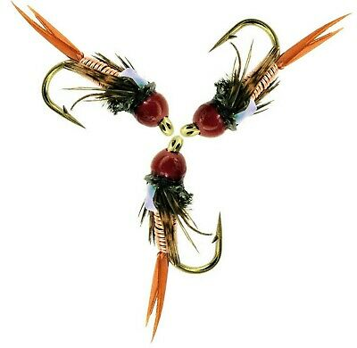 Fly Fishing Trout Flies Tequila Blobs Set Of 6