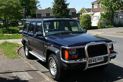1995 Jeep Cherokee 2.5L Diesel - Immaculate Condition, only 53k miles - BLUE