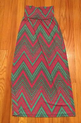 Girls Moa Moa Long Skirt Size Small EUC