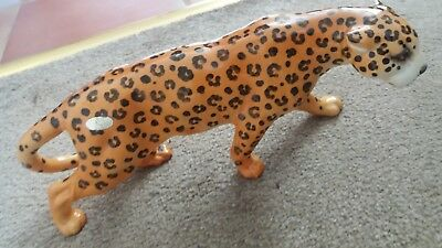 Gorgeous Beswick Vintage Large   Leopard  Perfect With Original Sticker
