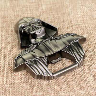 Creative Beer Opener Metal Alloy Lord Darth Vader Wine Drink Bottle Opener Tools