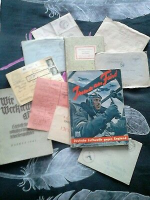 lots documents allemand ww2