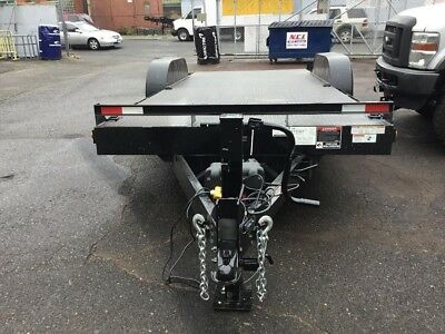 2018 Hawke 20 ft 14k New 7 x 20 power tilt equipment Carhauler bobcat trailer