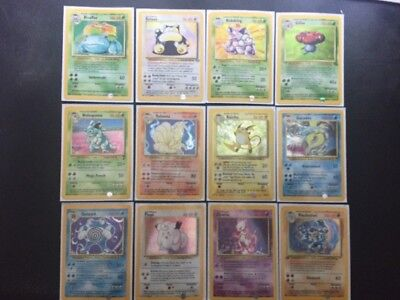 Pokemon Karten - Base, Basis, Dschungel, Jungle, Fossil, no gx, no psa, MINT