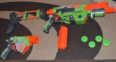 Nerf Bundle Praxis, Vortex Proton Stock, Mag Disc Toy Gun