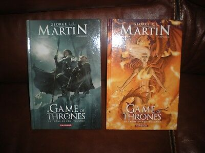 Game Of Thrones Le Trone De Fer - Lot Des 2 Premiers Tomes Dargaud