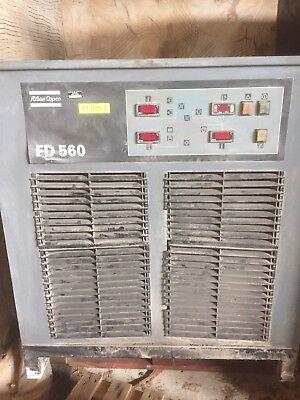 Atlas Copco FD560 Air Compressor With FD516 Air Dried £2000 + Vat £2400