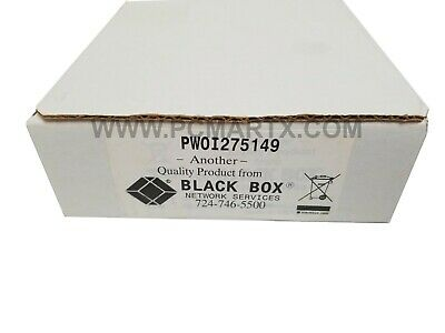 Black Box SP400A-R3 RS-232 to RS-232 Interface Powered Optical Isolator