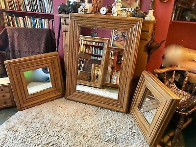 """Fabulous Antique Vintage Victorian Pine Mirror Fraime """"Made To Order""""!!"""