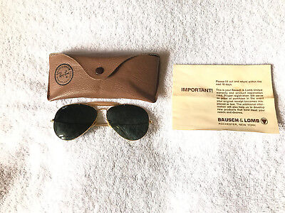 Vintage Ray Ban Aviator Sunglasses Made in the USA