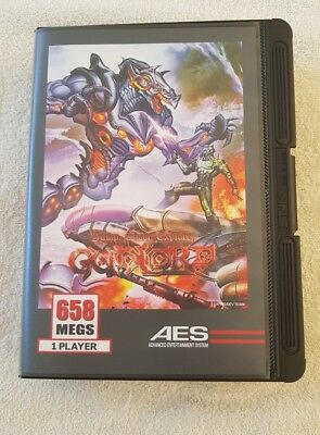 Neo Geo AES Gunlord US Final Version