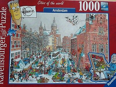 Ravensburger Puzzle Amsterdam Cities of the World 1000 Teile Puzzle
