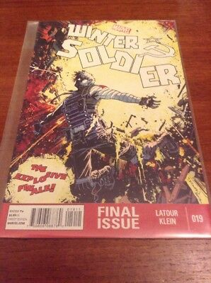 Winter Soldier #19 (Marvel, 2012, First Print)