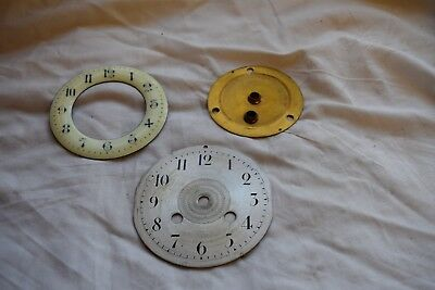 antique french  clock dials