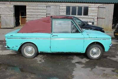 Hillman imp 1968 soft top conversion needs TLC