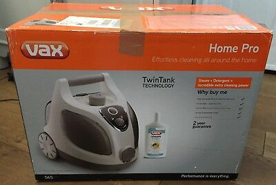 VAX Home Pro Steam Cleaner Model S6s with Accessories