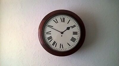 Elliott Wall Clock. Fusee Movement. Ministry Of Defence. 1936.