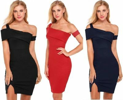 Women Sexy Summer Ladies Bodycon Evening Party Cocktail Club Short Mini Dress DR
