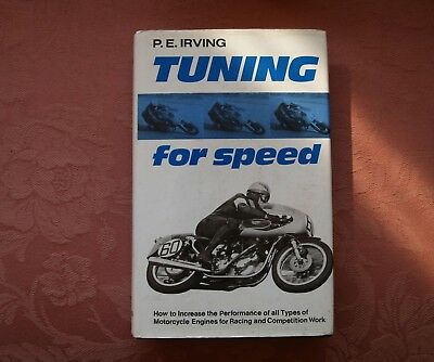 Tuning for Speed by P. E. Irving: Classic Motorcycle Book