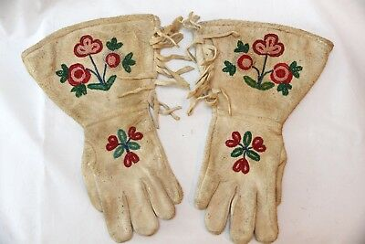 Native American Gauntlets Or Gloves