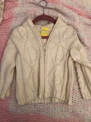 New kissy kissy baby sweater 18-24 months