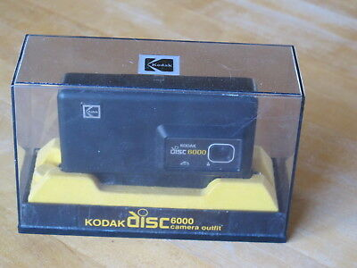 Kodak disc 6000 camera outfit original box vintage