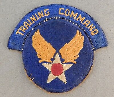 WWII World War 2 U.S. Army Air Corps Force Used Patch & Tab No Reserve